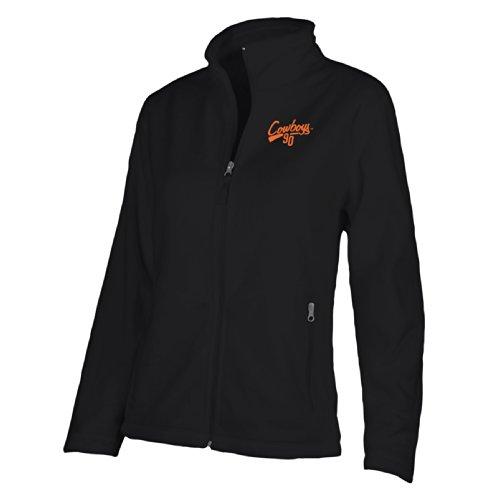 NCAA Oklahoma State Cowboys W Luxe Jacket, Large, Black