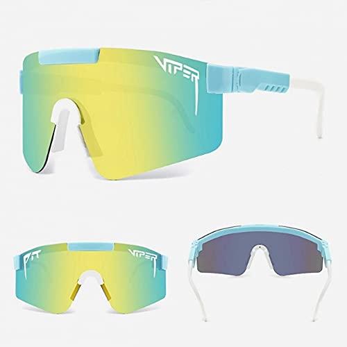 Gafas De Sol, Gafas De Montar Polarizadas para Hombres Y Mujeres, Gafas De Sol Polarizadas De Película Real De Galvanoplastia De Colores Grandes Enmarcados-c21
