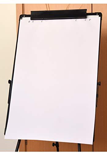 Grafik-Datenblock, erweitertes A1, dickes 80 g/m², Flipchart-Papier, multifunktional, für Büro, Schule, Zuhause, ablüftensicheres Papier, buntes Staffelei-Block, weiß, 88 x 59 cm