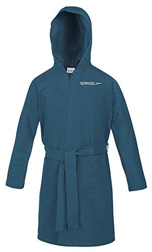 Speedo Microfiber Bath Robe, unisex, Microfiber, Marine, 32