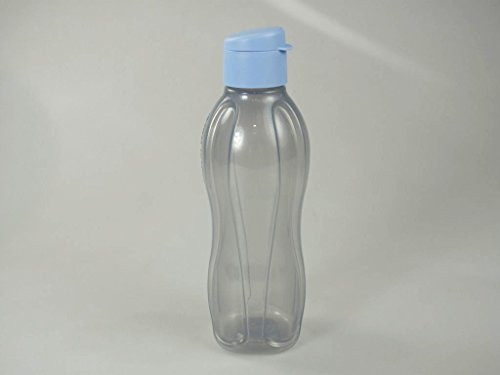 TUPPERWARE To Go Eco 750ml lichtblauw glitter drinkfles eco-fles eco 8691