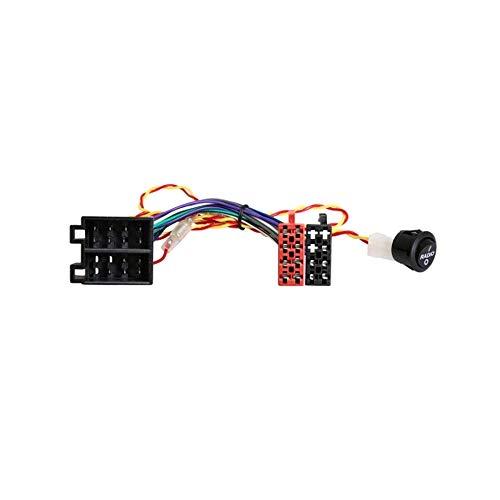 Adapterkabel mit Schalter für Autoradiobetrieb ohne Zündung einschalten