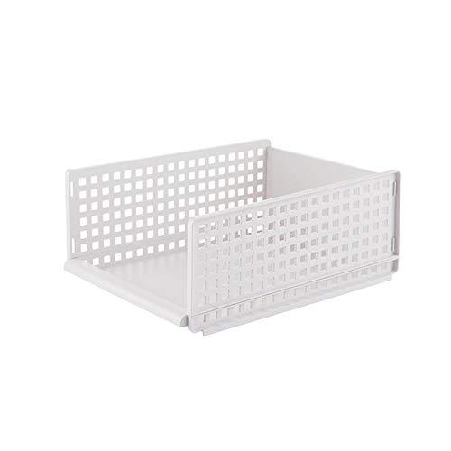 Wardrobe Storage Rack, Simple Layered Partition, Storage Cabinet Organizer, Household Drawer Storage Basket, 1 Piece,Short models