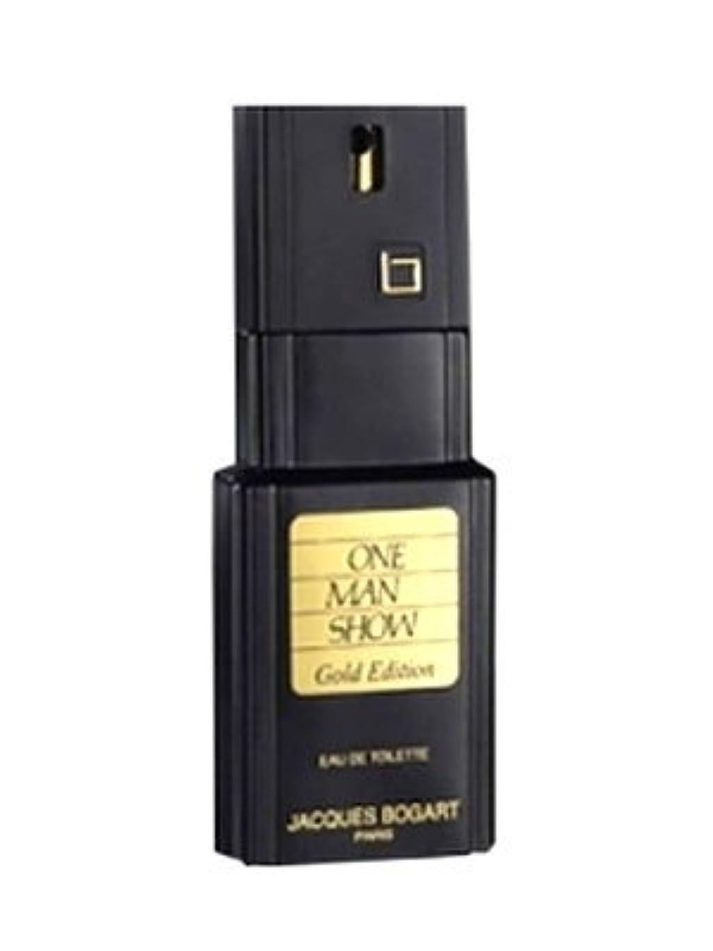 イタリアのサンプル接ぎ木One Man Show Gold Edition (ワンマンショー ゴールデンエディション) 3.3 oz (100ml) EDT Spray by Jacques Bogart for Men