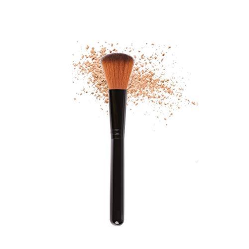 Zwarte Make-up Kwast Losse Poeder Cosmetische Foundation Poeder Blush Enkele Borstel Make-up Tool Foundation Poeder Kwast Blush Make-up Kwast