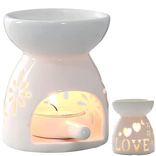 Quemadores de Aceites Esenciales,Quemador de Aroma de Aromaterapia,Quemador de Aroma,Quemador de Incienso,Lámpara de Aceite Esencial,Quemador de Aroma de Cerámica,Lámparas de Aroma,Candelero de Aroma