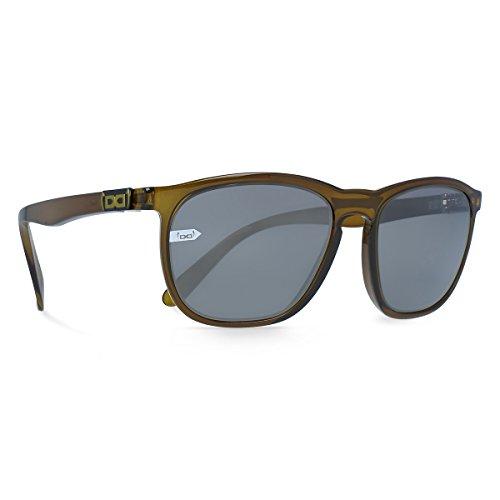 gloryfy unbreakable eyewear Unisex– Erwachsene Gi13 Soho Sun olive Sonnenbrille, grün, Uni