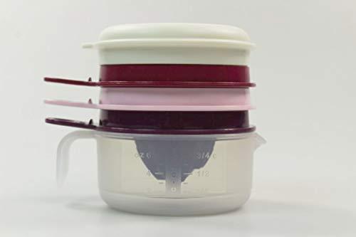 Tupperware Backen Küchenperle Zitronenpresse lila Eitrenner Küchenhelfer 37993