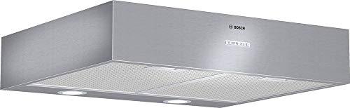Bosch DHU665EL Serie 4 Unterbauhaube / D / 60 cm / Edelstahl / wahlweise Umluft- oder Abluftbetrieb / Kurzhubtasten / Intensivstufe / Metallfettfilter (spülmaschinengeeignet)