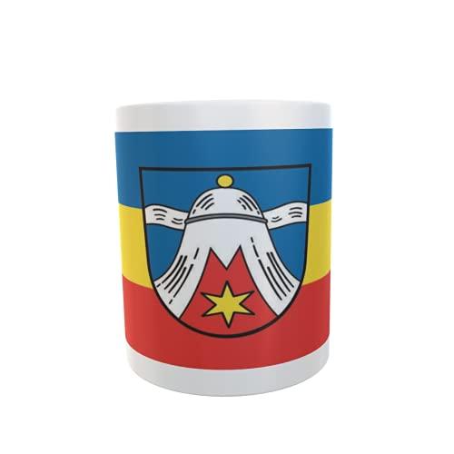 U24 Tasse Kaffeebecher Mug Cup Flagge Dietramszell