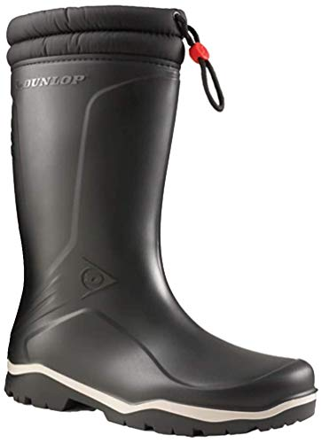 Dunlop Boots Thermostiefel Blizzard Wintergummistiefel für Damen und Herren (42 EU, schwarz)