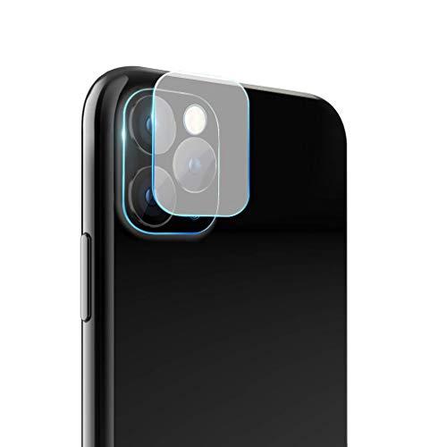 WARMWORD Lente de la cámara Trasera Fibra de Vidrio Protector de película de Pantalla para iPhone 11 Pro / 11 Pro MAX Accesorios movil Película templada Duradera (Transparente, Contiene: 5pc)