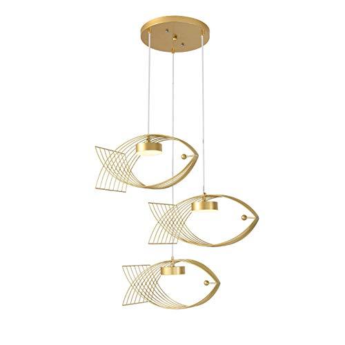 oxskk Gold During Light,Flush Mount LED Ceiling Lighting,Adjustable Fashions Hanging Light Fixtures For Kitchen Dining Room Bedroom-A 42x19cm(17x7inch)
