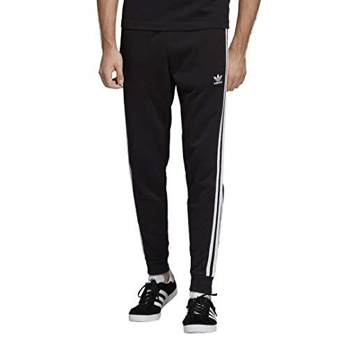 adidas Originals Men's 3-Stripes Pants, black, L