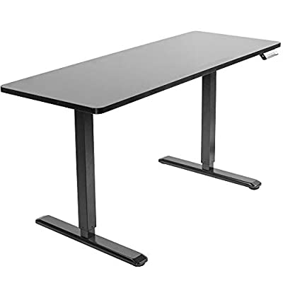 "VIVO Electric 60"" x 24"" Stand Up Desk 