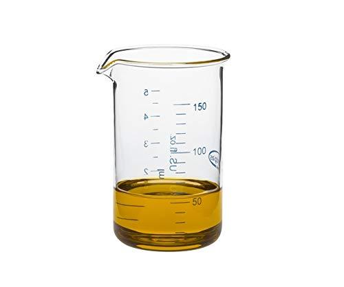Trendglas Jena Messbecher Mini aus Borosilikatglas, 0,15 l