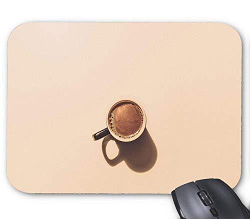 Eine Tasse Kaffee Pink Mouse Pad