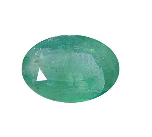 Jaipur Gems Mart certificato 2.65 Cts sfaccettato ovale forma di taglio Pezzo buon lustro dello Zambia naturale smeraldo pietra preziosa allentata per Ring Jewelry Dimensioni 10.80 x 8.30 x 4,50 mm
