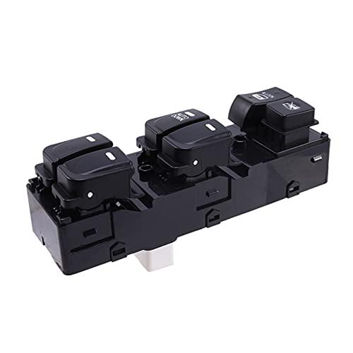 Yuanyuan Nuevo Interruptor de la Ventana de Encendido Delantero Izquierdo Adecuado para Hyundai Elantra 93570-0Q000m5 (Color : Black)