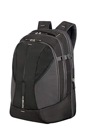 Samsonite 4mation Laptop Backpack L Mochila Tipo Casual, 34 litros, Color Negro/Plateado, 45.5 cm