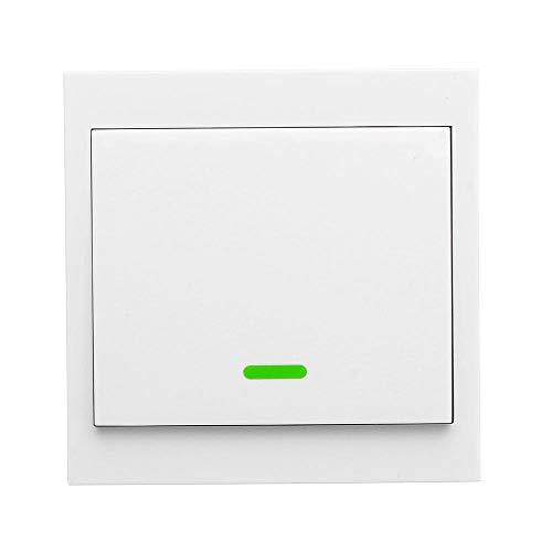 KKmoon Wifi Lichtschalter Smart Home Fernbedienung 86 Typ Bedienfeldschalter Smart Home 433 MHz Funkfernbedienung