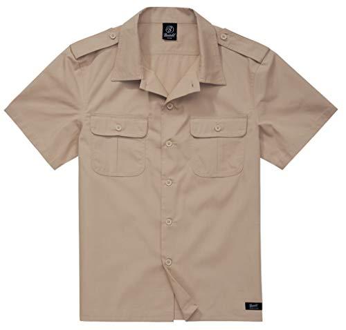 Brandit Camiseta de los EE. UU. Ripstop de manga corta, muchos colores,...