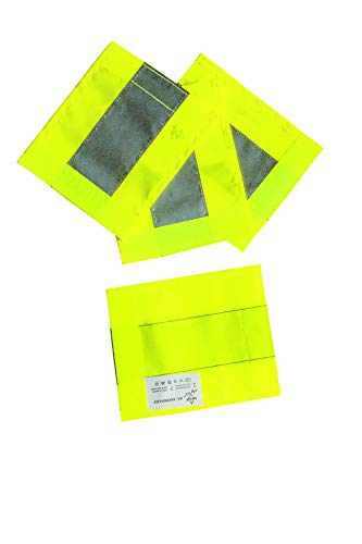 Korntex Unisex– Erwachsene KXKINDG1214 Rollflektor, Gelb, Groß
