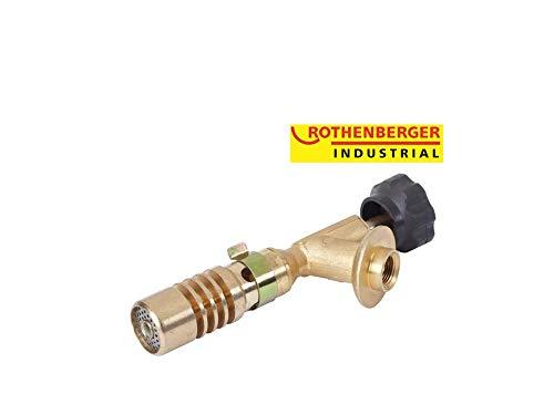 Hot Pack Brenner ROTHENBERGER Industrial einzeln ohne Gaskartusche (Hochleistungsbrenner Lötbrenner Einwegkartusche Euroanschluss)