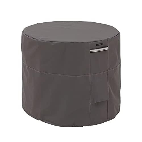 Classic Accessories Ravenna Water-Resistant 34 Inch Round Air Conditioner Cover