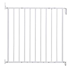 Fits openings 67-112m / 26.25-44in Gate height 68cm / 26.75in No base bar – ideal for top or bottom of stairs Two way opening No extensions required