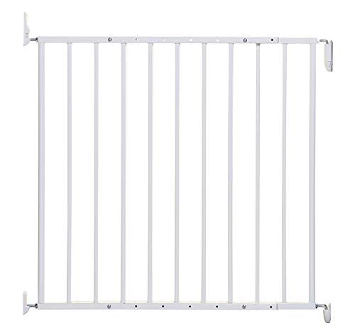 Dreambaby Arizona Extenda Baby Safety Gate, Hardware Mounted Gate -Adjustable Width (68-112cm) White - Model G2164
