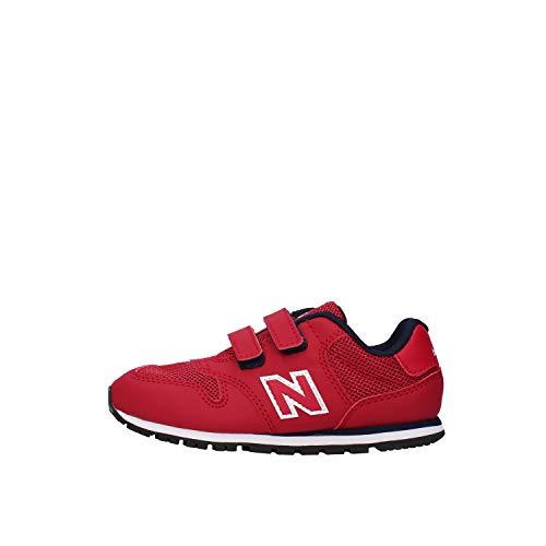 New Balance 373 con Velcro Rosso, 25
