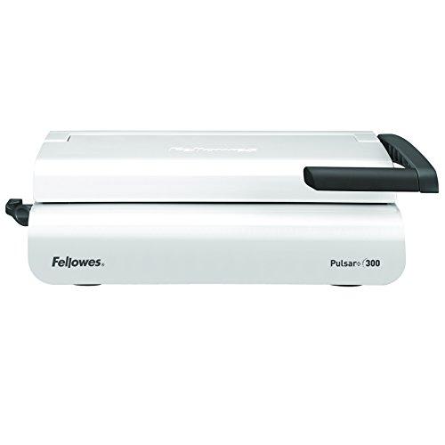 Fellowes Pulsar+ - Encuadernadora manual de canutillo de plástico, uso frecuente