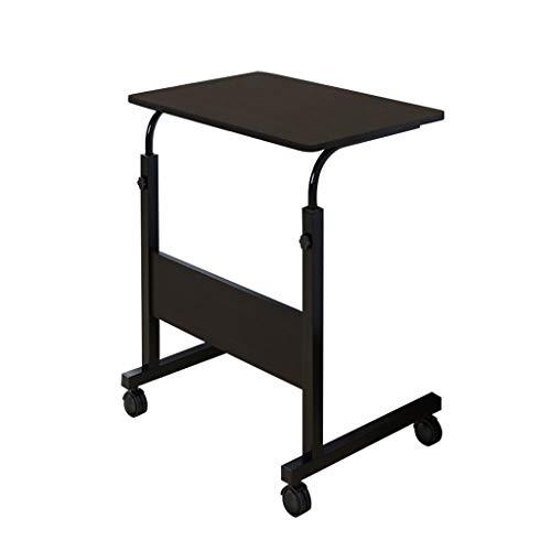 Zegeey Laptop-Schreibtisch für Bett faltbar Laptop Desk arm Stand Laptop-Schreibtisch Laptop Schreibtisch Sehr Praktisch Einfach Armständer Ergonomischer Mit Rädern (Black,A1)