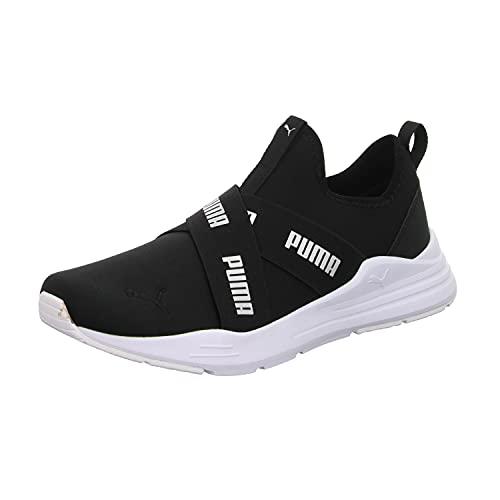 Puma Wired Run Slipon Wmn, Zapatillas Deportivas Mujer, Black, 40.5 EU