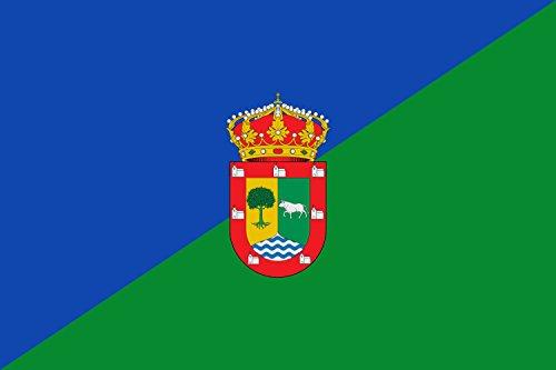 magFlags Bandera Large Municipio de Lozoyuela-Navas-Sieteiglesias Comunidad de Madrid | Bandera Paisaje | 1.35m² | 90x150cm