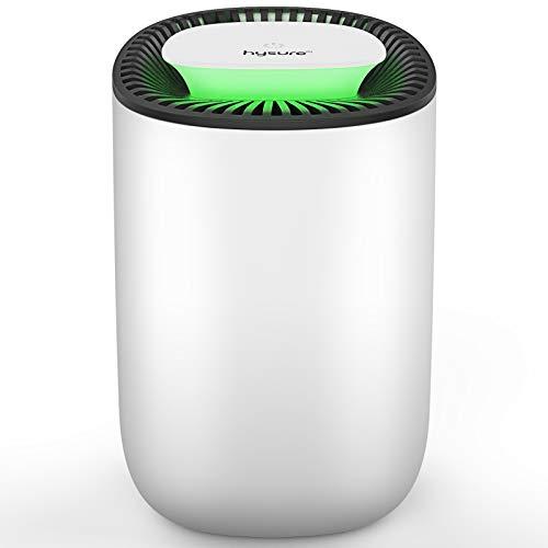 Deshumidificador compacto y portátil,600 ml,deshumidificador silencioso,deshumidificador en la cocina en el dormitorio, oficina y garaje en casa,contra la humedad,la suciedad y el moho