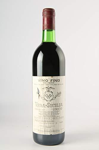VEGA SICILIA Unico 1967 - (Etiqueta dañada)