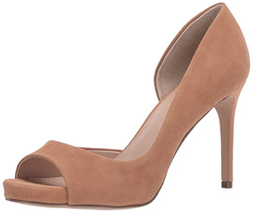 CHARLES BY CHARLES DAVID Women's Chess Pump Nude 8.5 M US