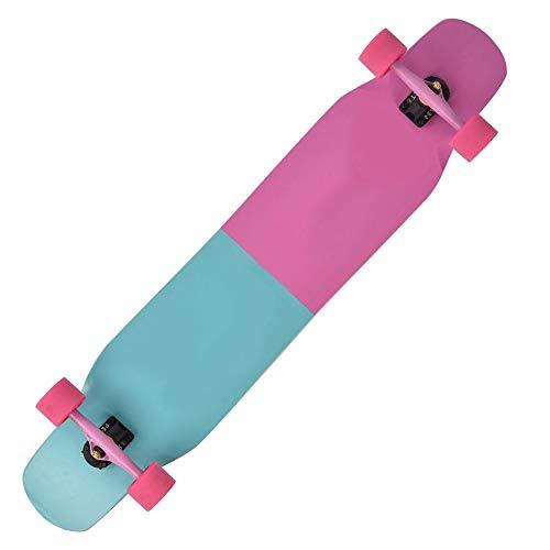 Keenso 4 Rädern Skateboard, professionelles Skateboard Tanzen Longboard Street Dance Board für Erwachsene