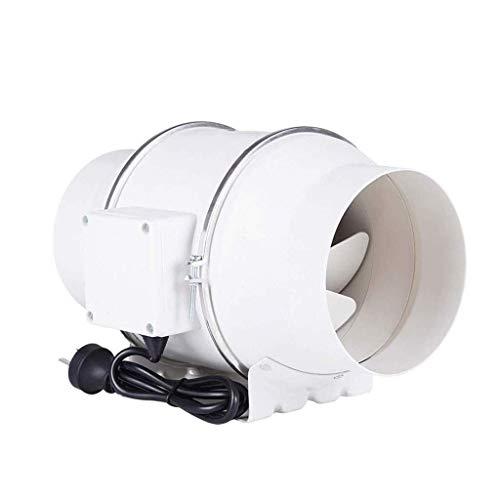Extractor De Aire, Extractor Cocina Ventilador de escape, ventilador de ventanas ventilador de escape ventilador de ventilación de la casa ventilador, fan del conducto redondo 150 potente baño tranqui
