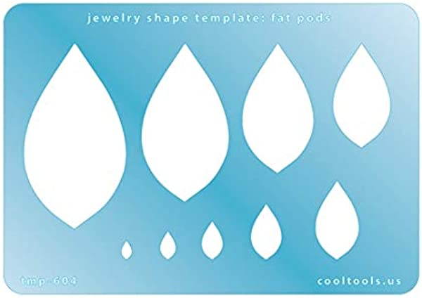 Jewelry Shape Template Fat PODS