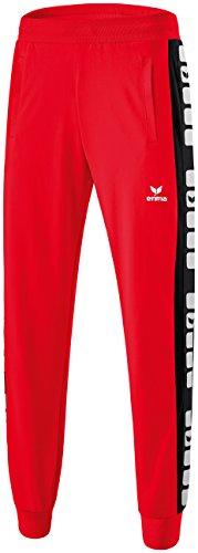 Erima Herren Classic 5-C Sweathose, rot/schwarz, XL