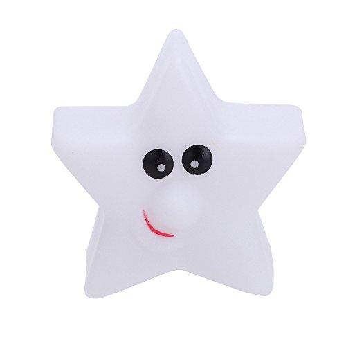 Pinzhi Étoile Lampe de nuit LED pour enfant pour chambre 7 couleurs Pour Noël