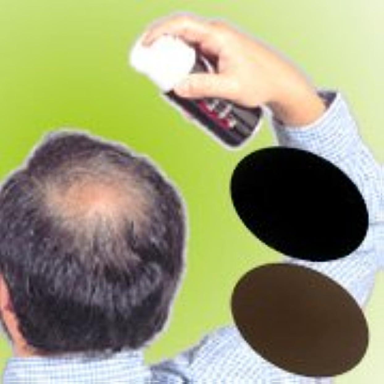 不完全ねばねば祖父母を訪問薄毛?白髪をワンタッチで隠します!男女兼用タイプの増毛スプレー!!【トミーリッチ ブラックヘアー】 (注意!商品の内訳は「ブラウン<数量12単位>」のみ)