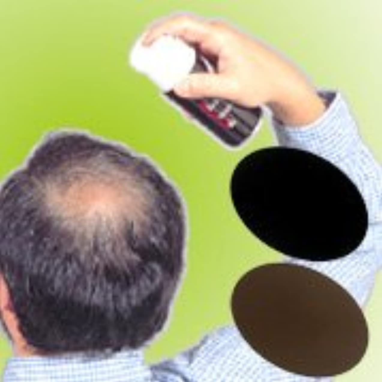 フロントバース仮定薄毛?白髪をワンタッチで隠します!男女兼用タイプの増毛スプレー!!【トミーリッチ ブラックヘアー】 (注意!商品の内訳は「ブラウン<数量12単位>」のみ)