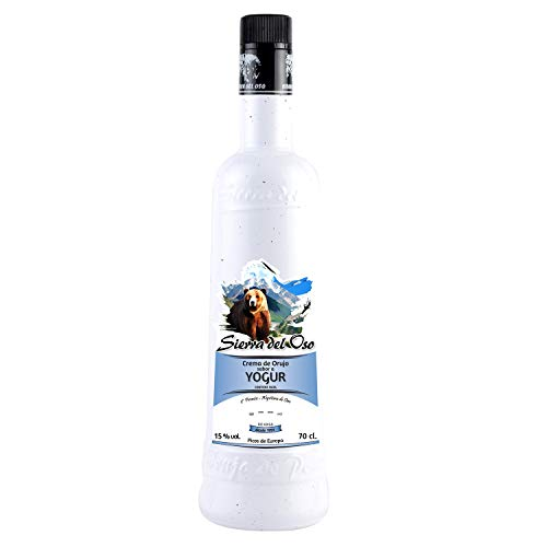 Crema de Orujo con Yogurt - Sierra del Oso 700 ml, 3 botellas