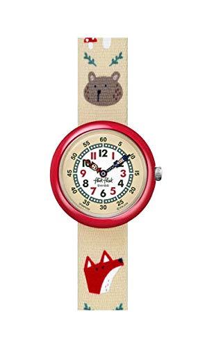 Flik Flak Jungen Analog Quarz Uhr mit Kunststoff Armband FBNP139