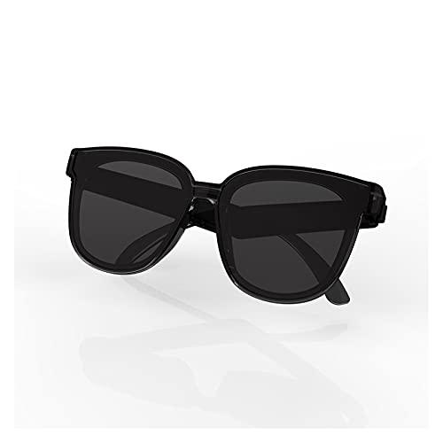 GUHUIHE Gafas Inteligentes, 2 en 1 Gafas de Sol Inteligentes Auriculares Bluetooth inalámbrico BT5.0 Gafas de música Ciclismo al Aire Libre Gafas de Sol Deportes Auriculares con micrófono