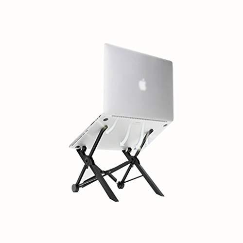 Schreibtische & Workstations Schreibtischaufsätze Computer-Schreibtisch Notebook-Ständer klappbaren tragbaren Lift Laptopständer Computer-Rack-Kühlung geeignet for den Einsatz im Büro